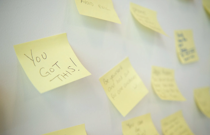 """a sticky note that says """"you got this!"""""""