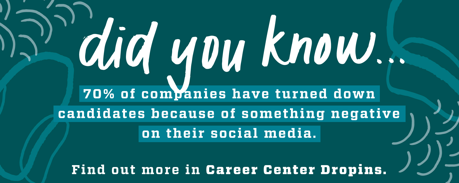 Did you know... Drop Ins at the Career Center can help you with your job search