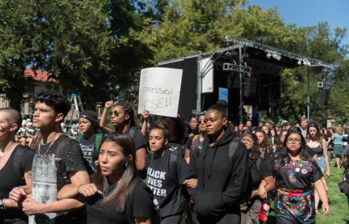 Black Live Matters March at CSU