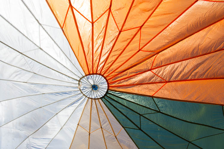 Career Services Network - Image of CSU parachute