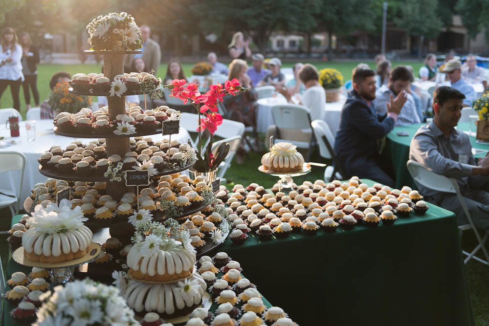 events with desserts
