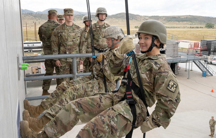 army soldiers training